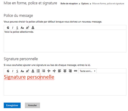 how to add signature in hotmail outlook