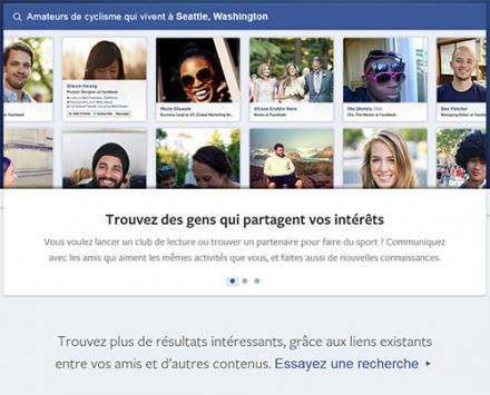 Recherche dans le graphe Facebook