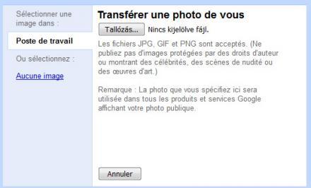 Changer votre photo de profil Gmail