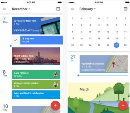 Google change les fonctionnalités de son Agenda