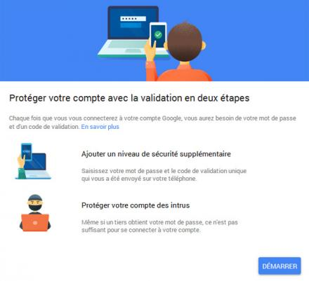 2-Step Verification de Google