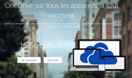 Les nouvelles performances de OneDrive