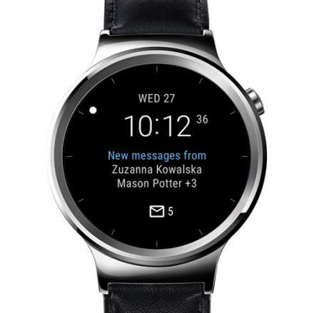 Spécificité d'Outlook sur Android wear