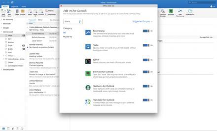 Outlook 2016 pour Mac, plus pratique et plus efficace