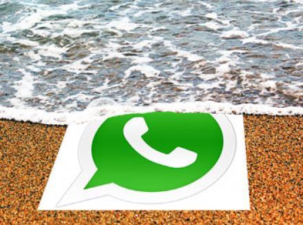 Whatsapp les données d'itinérance lors de voyages à l'étranger