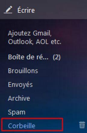 Comment récupérer un mail sur Yahoo