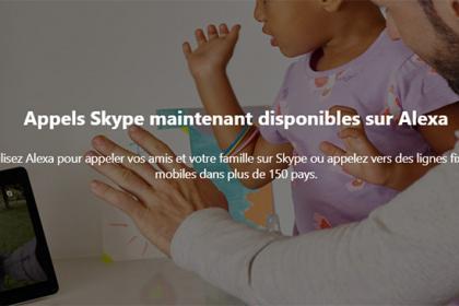 Amazon et Microsoft allient Skype à Alexa
