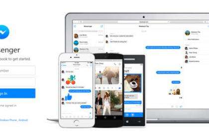 Facebook Messenger navigateur