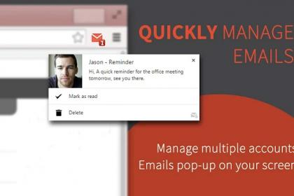 Checker Plus for Gmail, le meilleur notificateur pour Gmail