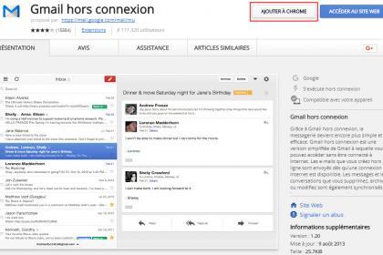 Consulter ses mails sans connexion avec Gmail hors connexion