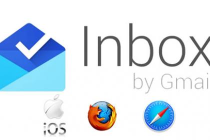 Google Inbox aux Ipads, à Safari et à Firefox
