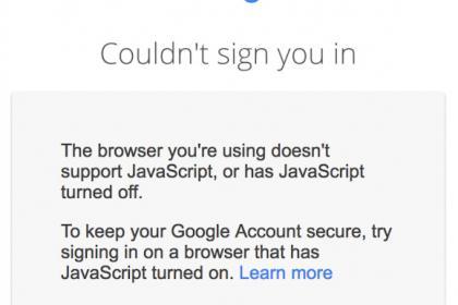 Google sécurise le compte de ses utilisateurs par Java : quelles sont les conséquences ?