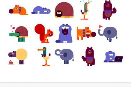 Google Messenger stickers