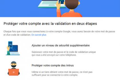 2-Step Verification de Google