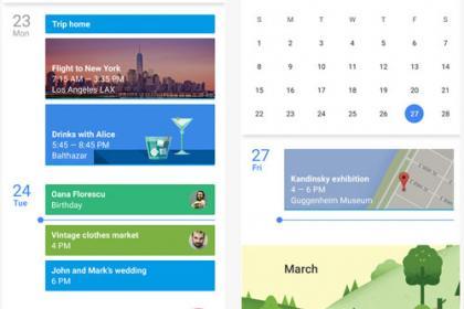 L'iOS vous propose désormais la Google calendar