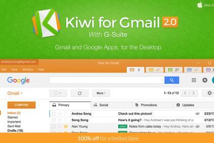 Kiwi pour Gmail (Win&Mac)