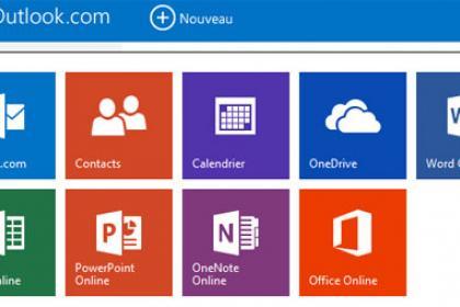 Le nouveau lanceur de Microsoft