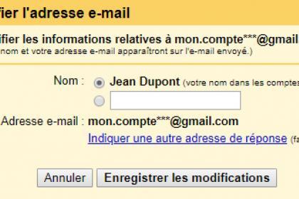 Comment changer son nom d'expéditeur dans Gmail