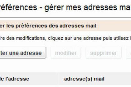 Créer un alias de votre adresse e-mail Orange