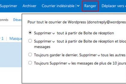 Hotmail (Outlook.com) ranger