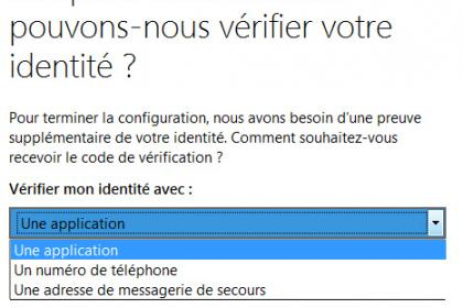 Outlook.com : Configurer la vérification en deux étapes