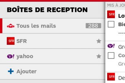 SFR Mail : le guide pour ajouter un compte e-mail importé sur votre mobile