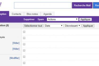 Les limites de la version de base de Yahoo Mail
