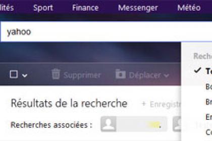 Tri et filtres personnalisés, c'est désormais possible chez Yahoo